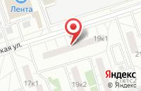 Схема проезда до компании Нир-Синтез в Москве