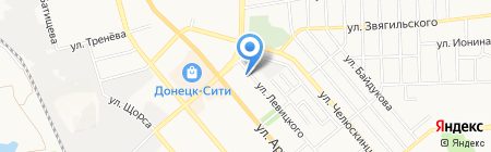 Детский сад №197 на карте Донецка