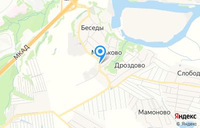 Местоположение на карте пункта техосмотра по адресу Московская обл, г Видное, д Мильково, д 119 стр 1