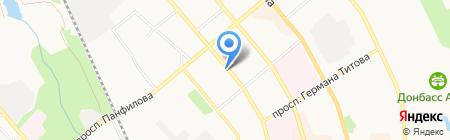Corwell на карте Донецка
