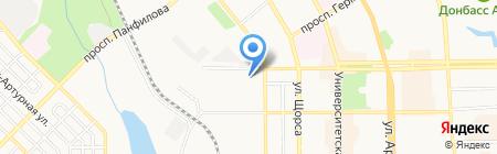 СИТЭКО на карте Донецка