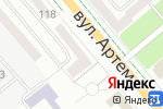 Схема проезда до компании Ваниль в Донецке