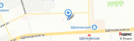 Детский сад №1224 на карте Москвы