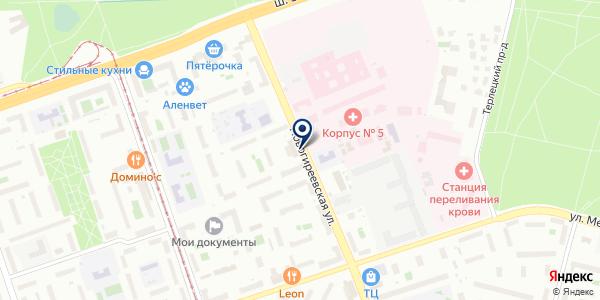 Будь здоров! на карте Москве