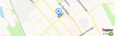 Классический и современный дизайн на карте Донецка
