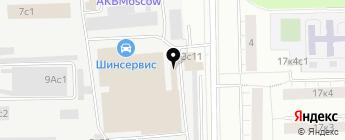 Pasker на карте Москвы