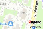 Схема проезда до компании Современник в Москве