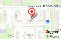 Схема проезда до компании Компания Зиро в Москве