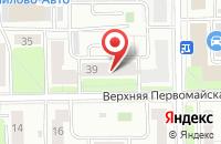 Схема проезда до компании Библиосервис в Москве