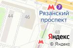Схема проезда до компании Rival в Москве