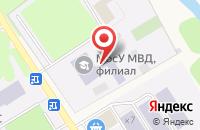 Схема проезда до компании Московский университет МВД РФ в Черкизово