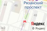 Схема проезда до компании Красная икра в Москве