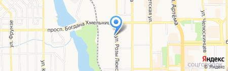Леди Boss на карте Донецка