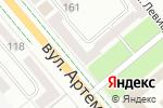 Схема проезда до компании Stanley в Донецке