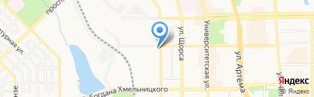 Участковый пункт милиции №1 на карте Донецка