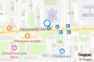 Комната в двухкомнатной квартире в Москве м. Первомайская, Первомайская