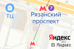 Схема проезда до компании РосДеньги в Москве