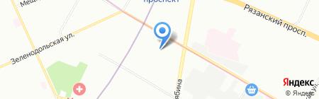 Консультант-недвижимость на карте Москвы