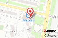 Схема проезда до компании Нитро в Москве