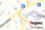 Схема проезда до компании Шоколад в Донецке