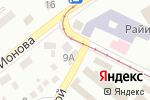 Схема проезда до компании FAST FOOD в Донецке