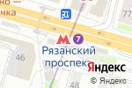 Схема проезда до компании КЭШ ПОИНТ в Москве