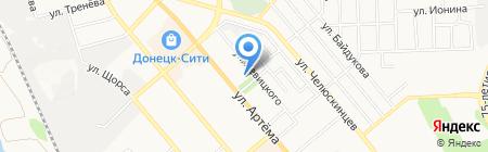 IMAC.DN.UA на карте Донецка