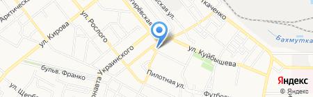 Концепт-Групп на карте Донецка