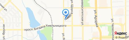 Мистраль на карте Донецка