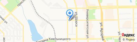 Крепость на карте Донецка