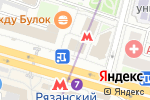 Схема проезда до компании Платежный терминал, КБ Индустриальный Сберегательный Банк в Москве