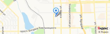 Универсальный офис на карте Донецка