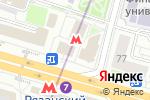 Схема проезда до компании Burger shaw в Москве