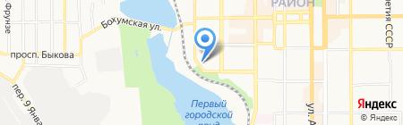 Юнион-нефтепродукт на карте Донецка