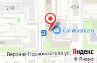 Схема проезда до компании Терракот в Москве