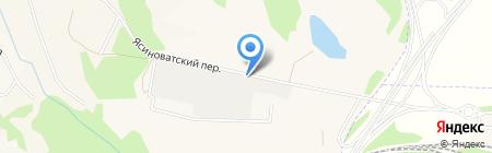 TIR на карте Авдеевки
