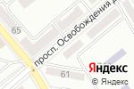 Схема проезда до компании Beauty Office в Донецке