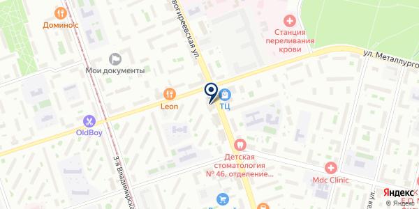 ОВОЩНОЙ МАГАЗИН ЛЮБАВА на карте Москве