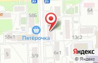 Схема проезда до компании Арт Медиа в Москве
