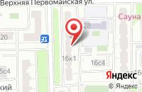 Схема проезда до компании Ктэс-Инжиниринг в Москве