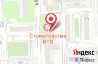 Схема проезда до компании Стоматологическая поликлиника №8 в Москве