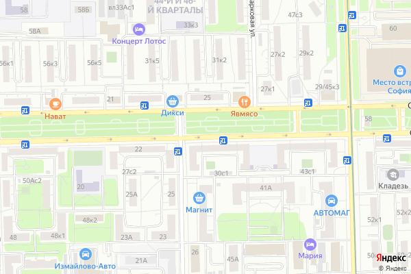 Ремонт телевизоров Сиреневый бульвар на яндекс карте
