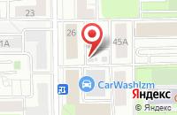 Схема проезда до компании Фаст Принт в Москве