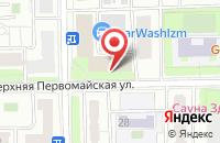 Схема проезда до компании Артлэнд в Москве