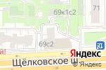 Схема проезда до компании Шашлычок в Москве