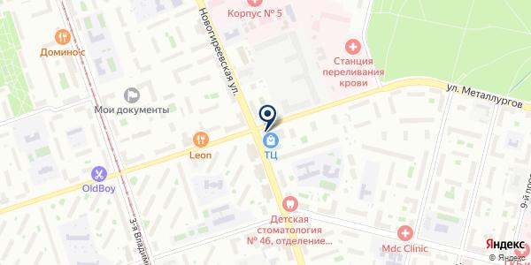 ГорЗдрав на карте Москве