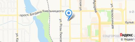Специализированная физико-математическая школа I-III ступеней №17 на карте Донецка