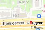 Схема проезда до компании Диваж в Москве