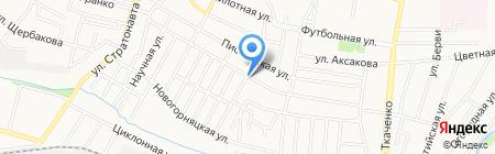 Нестеровка на карте Донецка