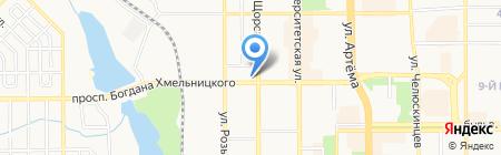 Экоресурсы на карте Донецка